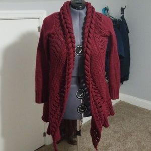 Maroon modcloth sweater